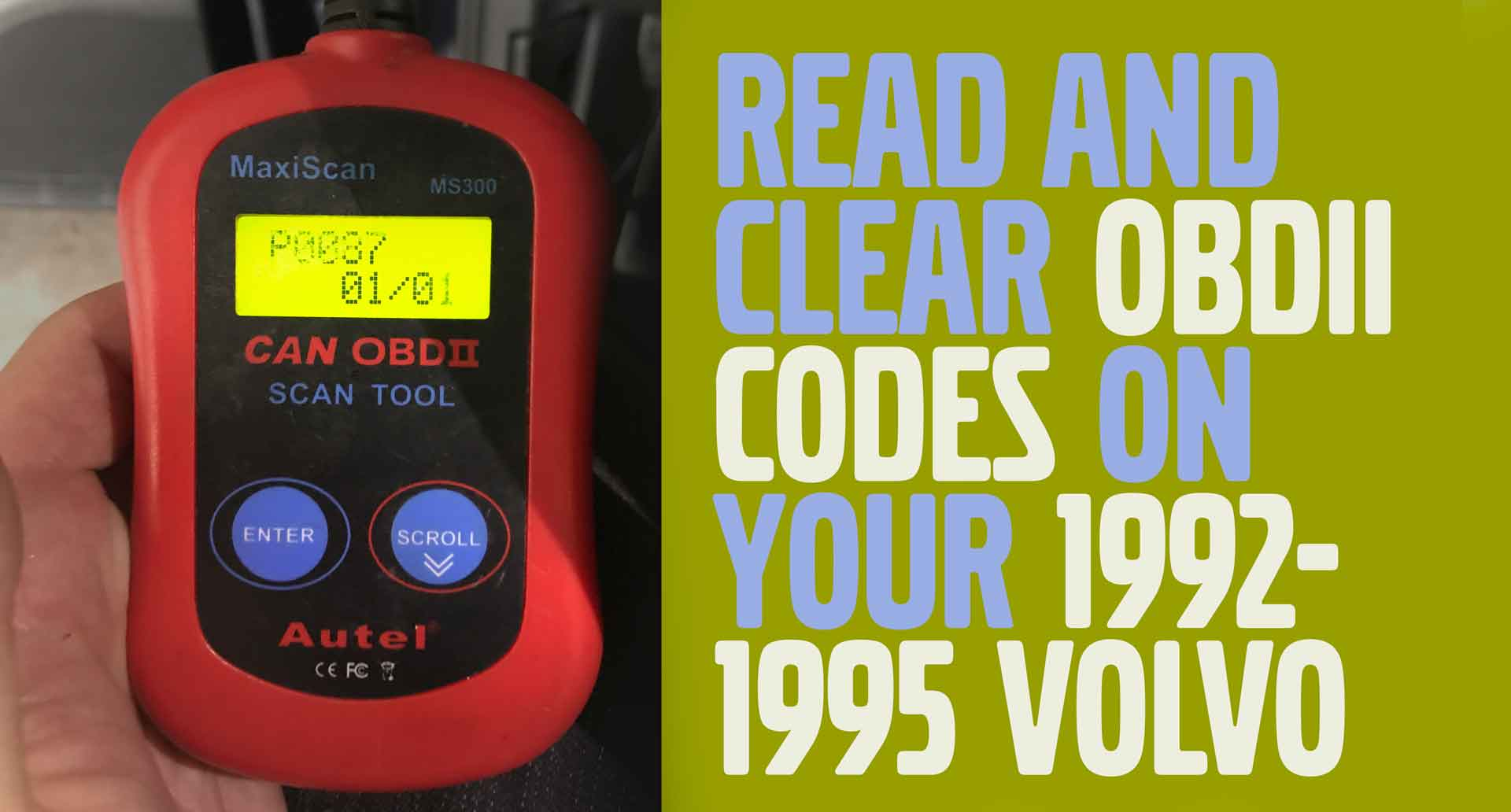 hight resolution of obdii and diagnostic codes 1992 1995 volvos
