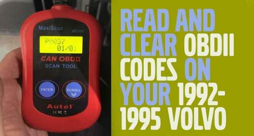 small resolution of obdii and diagnostic codes 1992 1995 volvos