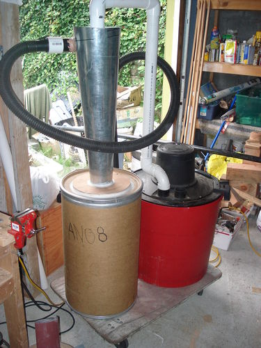 Building A Cyclone Dust Collector