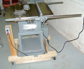 Vintage Delta Rockwell Table Saw
