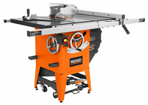 Decked Out Ridgid Model R4511 Table Saw 12 The Unveiling