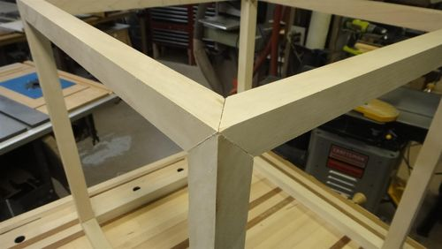 Workbench Build 15 3 Way Mitered Cube The Cabinets
