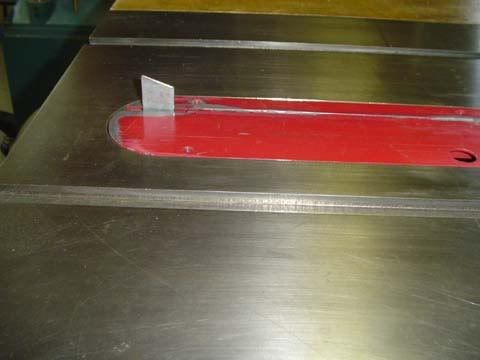 Craftsman Table Saw Splitter