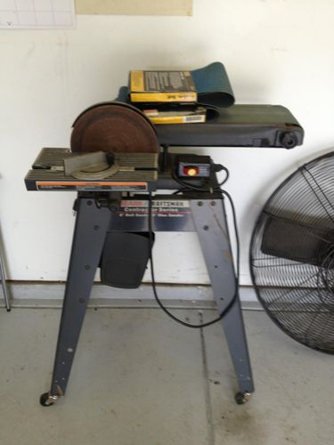 Craftsman Belt And Disk Sander