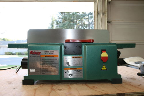 Grizzly G0725 6 X 28 Benchtop Jointer