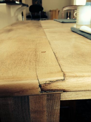 Need some woodworking advice on past made breadboard ends