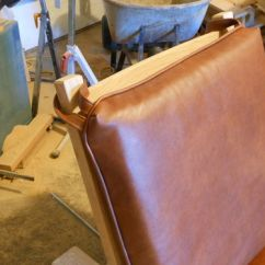 Leather Chair Cushions High Floor Mat Uk Stickley 369 Morris 6 Upholstery By Pintodeluxe I Took A Sewing Class To Learn How Make The