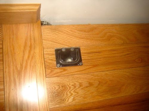 Basement Trap Door Hardware