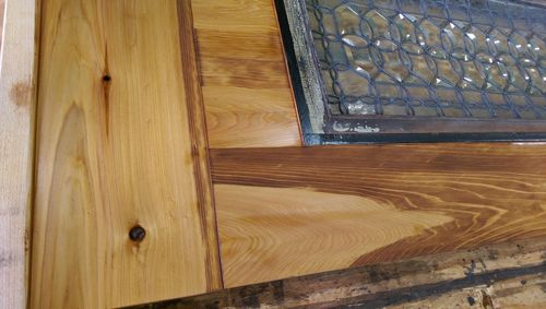 Tung Oil Over Stain