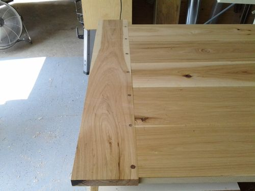 Breadboard Ends With Dowels