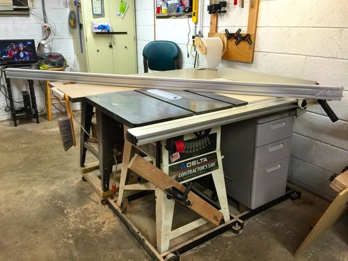 Aluminum Extrusion Table Saw Fence