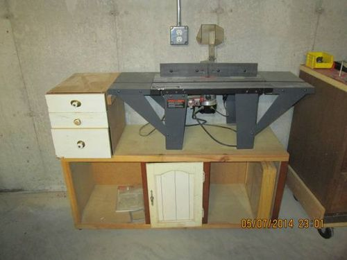 Vermont American Router Table 23466