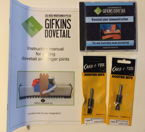 Gifkins Dovetail Jig Instructions