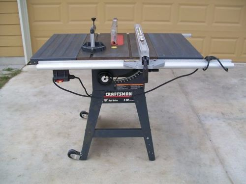 Craftsman model 113 table saw motor for Sears table saw motor