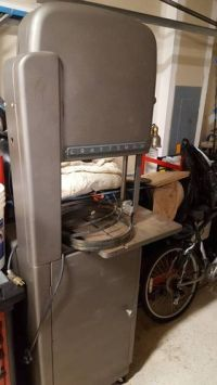 """Vintage Craftsman 18"""" Band Saw offered to me - by joshtp ..."""