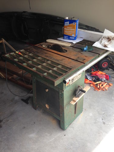 Old Grizzly Table Saw