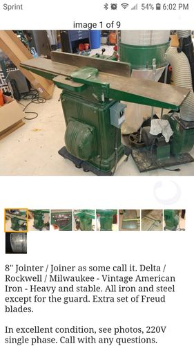 Milwaukee Jointer Planer