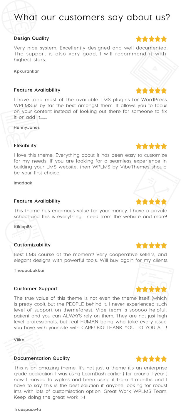 WPLMS Education WordPress theme reviews