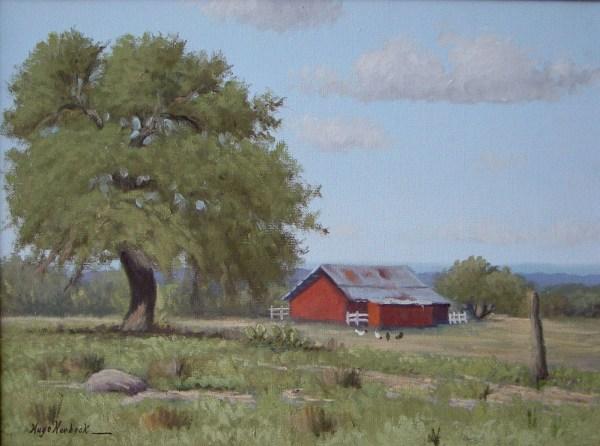 hugo herbeck - texas landscape