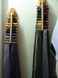 Woodworking Plans Wooden Necktie Rack PDF Plans
