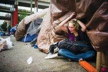 Portland Oregon Homeless Women