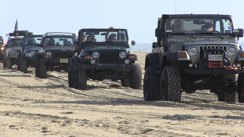 75 Years of Jeeps Displayed at Ocean City Jeep Week