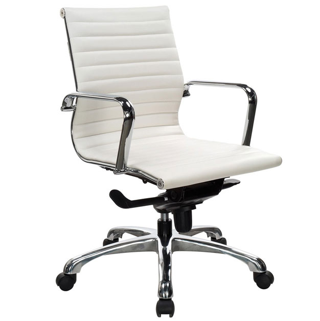 Ndi Office Furniture Segmented Leather Conference Office Chair  10821  Executive Office Chairs