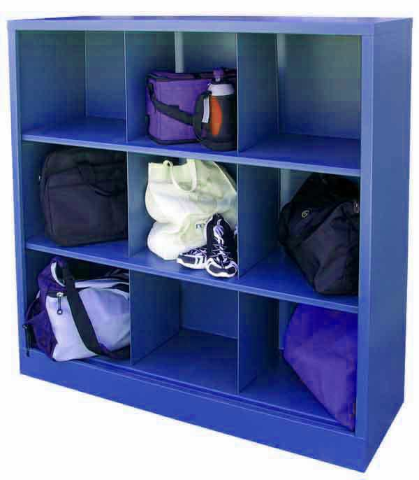 All Metal Cubby Cabinet By Sandusky Lee Options  Storage