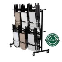 All Hanging Folding Chair Caddies And Coat Rack By Correll ...