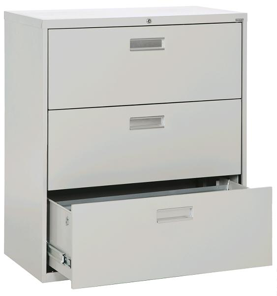 "Sandusky Lee Lateral File Cabinet (3 Drawer 36"" W"