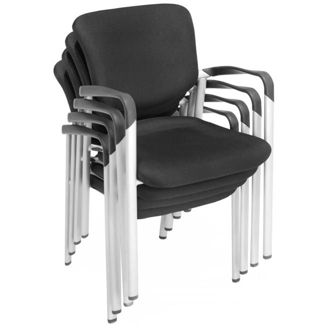 Regency Office Furniture 3075 Stackable Chair W Arms