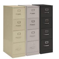 Sandusky Lee Vertical File Cabinet 4 Drawer Legal File (26 ...