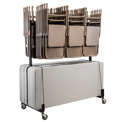 National Public Seating Nps Dual 42 Chair And 12 Folding