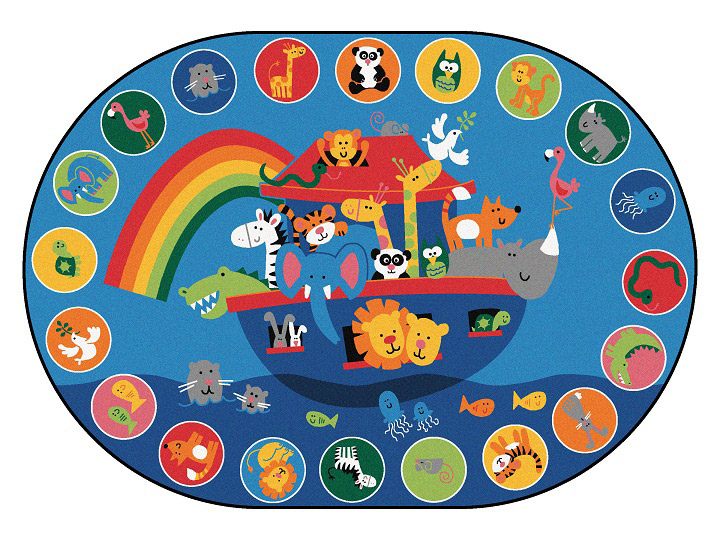 All Noah S Voyage Valueplus Circletime Rug By Carpets For