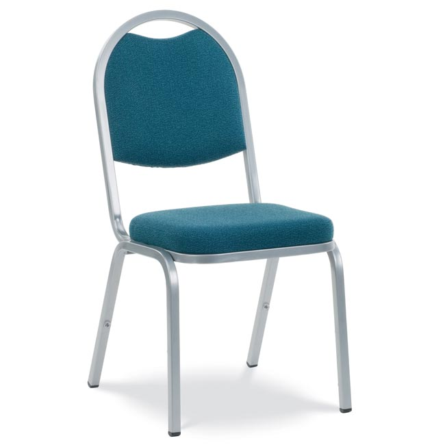 Virco Fabric Padded Stack Chair With Round Back And Crown Seat  8915  Padded Stack Chairs