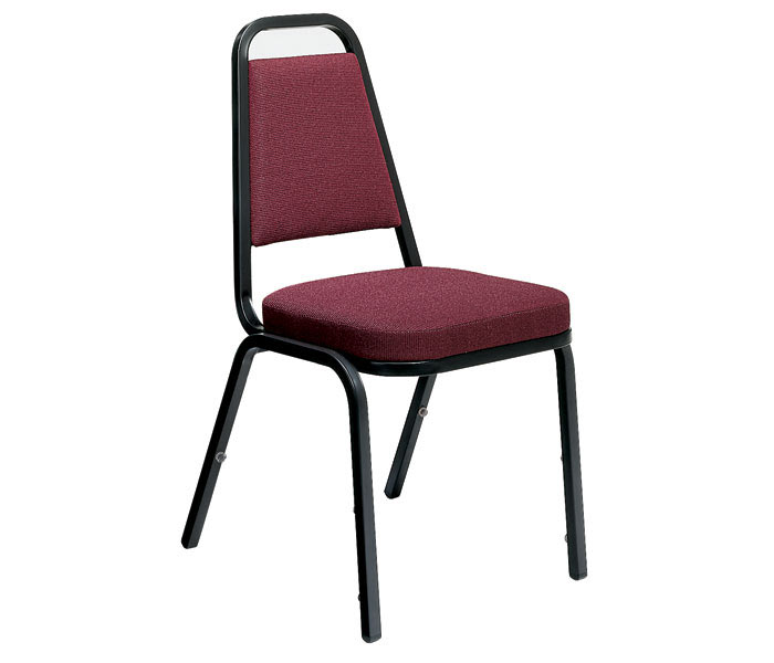 Virco Padded Stack Chair With Square Back And Crown Seat  8925  Padded Stack Chairs