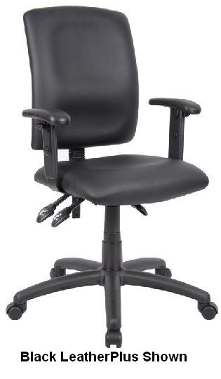 Boss MultiFunction Budget Task Chair W Adjustable Arms