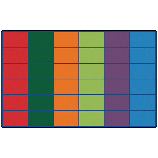 All Colorful Rows Seating Rug By Carpets For Kids Options