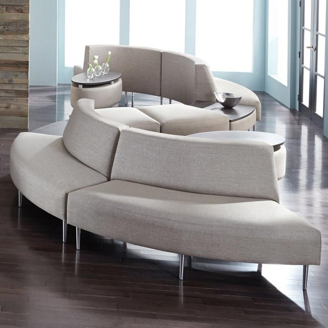 All Eve Curve Reception Seating By High Point Options
