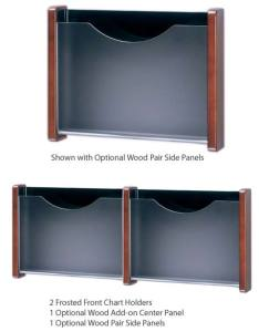 Frosted acrylic front metal wall chart holder also shipping details rh worthingtondirect