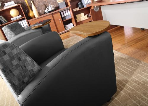 Ofm Interplay Tablet Chair  821  Reception  Waiting Room  Worthington Direct