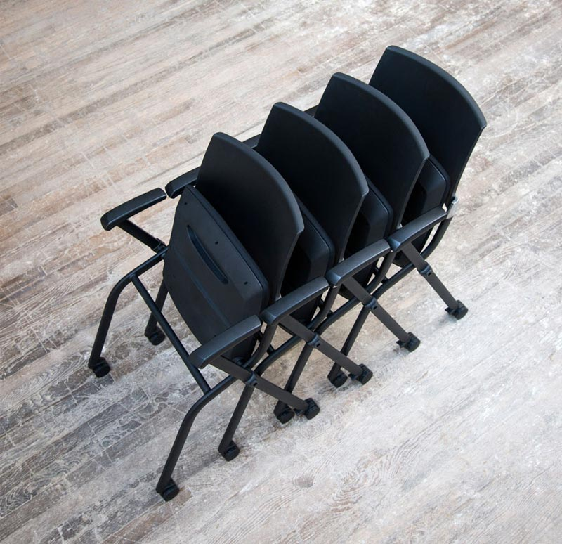 Community Kundek Chair With Casters  Ku70a  Guest Chairs