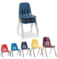 All Virco 9000 Series Colorful School Chairs Options ...