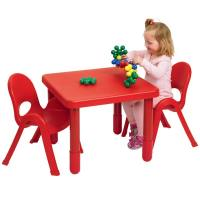 Angeles Myvalue Set 2 Preschool Matching Table And Chairs ...