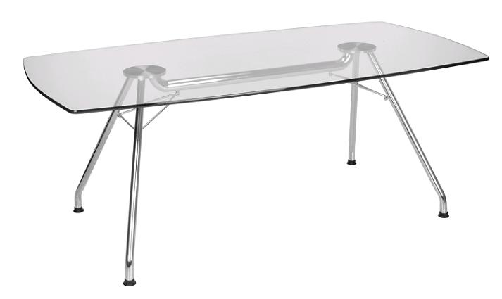All Glass Conference Tables By Ofm Options  Tables