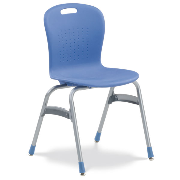 Virco Sage Stack Chair 19 H  Sg419  School Chairs  Worthington Direct