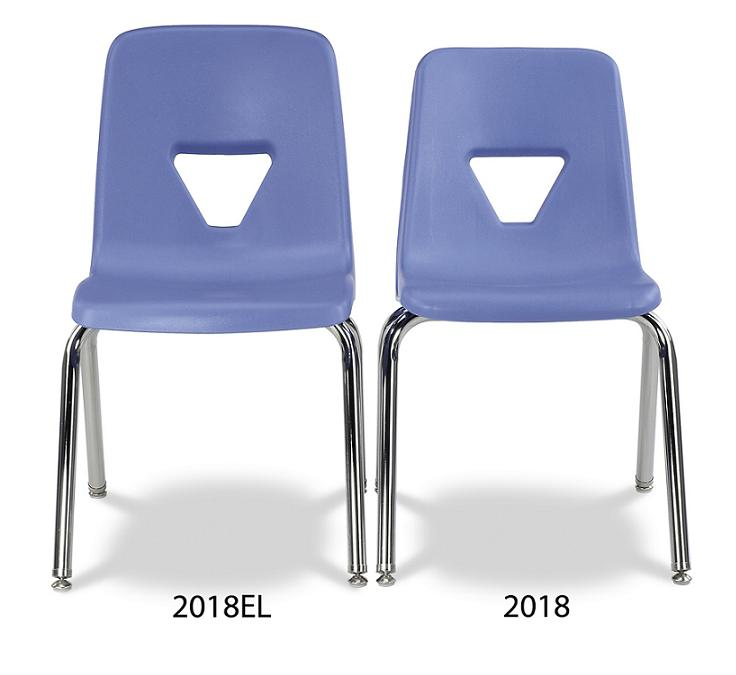 Virco 2000 Series Stack Chair  Extra Large 1812  2018el  School Chairs  Worthington Direct