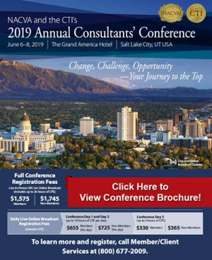 2019 Annual Consultants' Conference Catalog