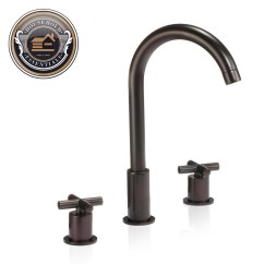 Widespread Kitchen Faucet Shades 8 Quot Bathroom Sink Ebay
