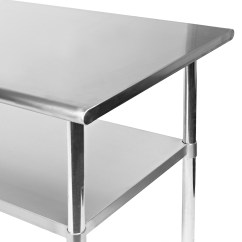 Kitchen Food Preparation Table Cost Of Custom Cabinets Stainless Steel Commercial Work Prep